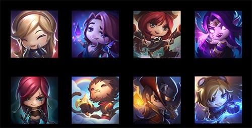 icones mini League of Legends