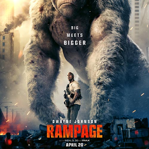 rampage live action