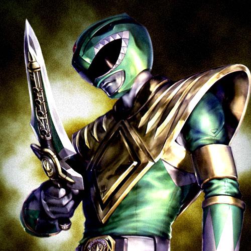 power ranger-verde