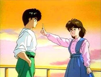 Yusuke e Keiko (Imagem Divulgação)