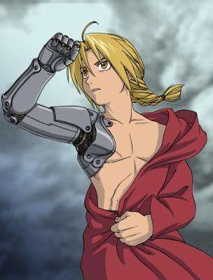 Edward, Fullmetal Alchemist