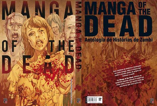 manga of the dead editora jbc capa