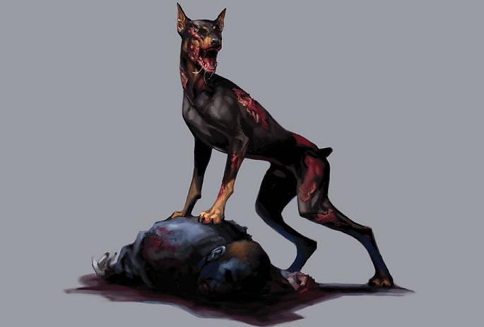 resident evil cerberus imagem
