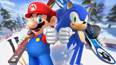 O Sonic manda bem nos esportes radicais. Mas, e o Mario?