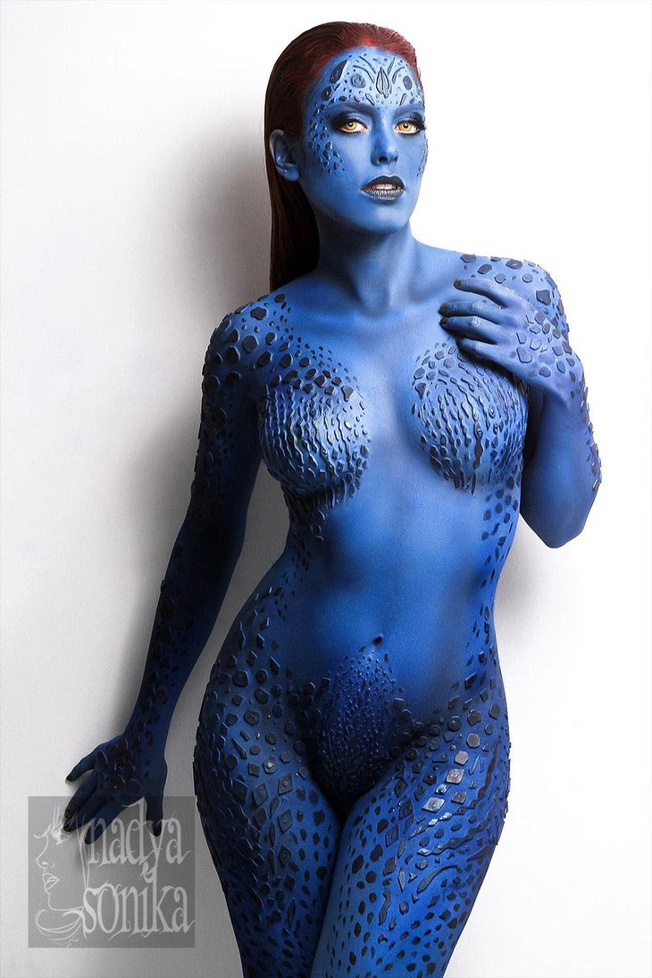 mystique_by_nadyasonika