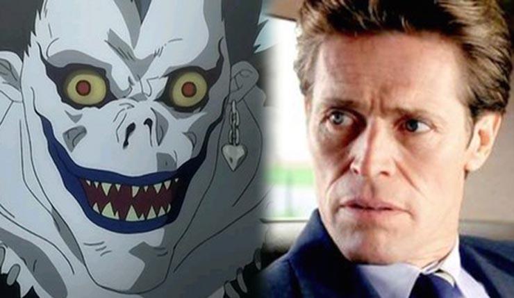Death Note | Willem Dafoe será Ryuk em adaptação americana!