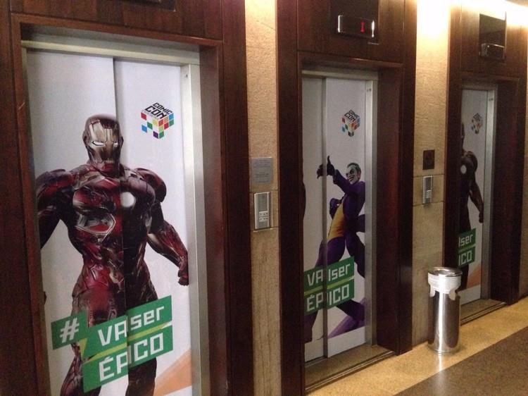 Personalização dos elevadores em 2015