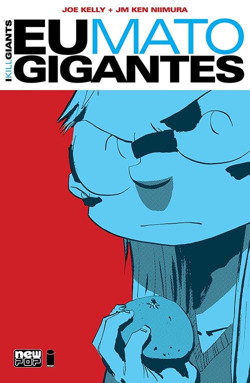 Eu Mato Gigantes, NewPOP Editora (Capa Divulgação)
