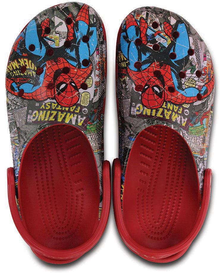 clogs spiderman