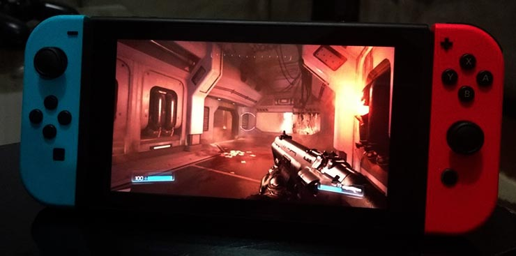 doom portable nintendo switch