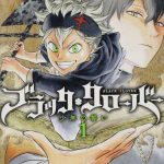 black clover manga cover