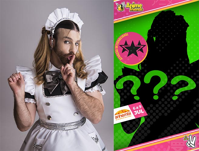 ladybeard anime friends 2018