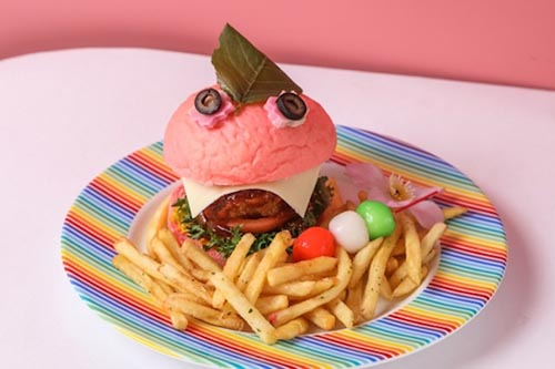 Kawaii Monster Cafe Hinami Burger