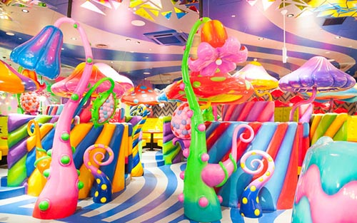 Mushroom Disco no Kawaii Monster Cafe