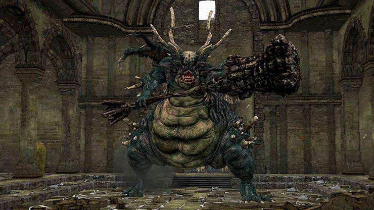 asylum demon dark souls