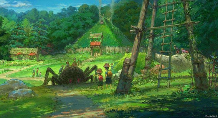 ghibli park mononoke