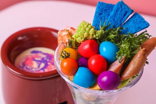 Parfait Fondue kawaii monster cafe