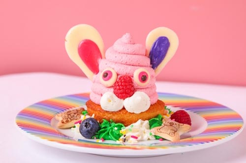 Pink Rabbit kawaii monster cafe