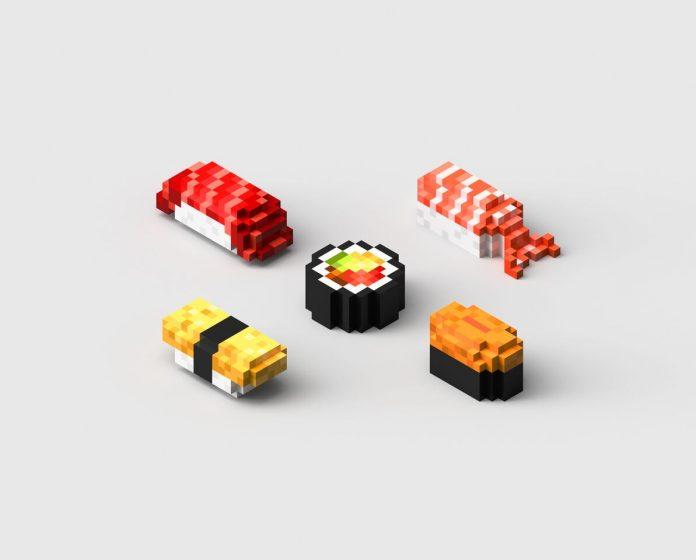 Pixel Food Printer