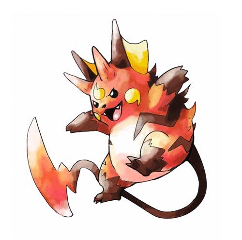 gorochu pikachu evolution concept fanart