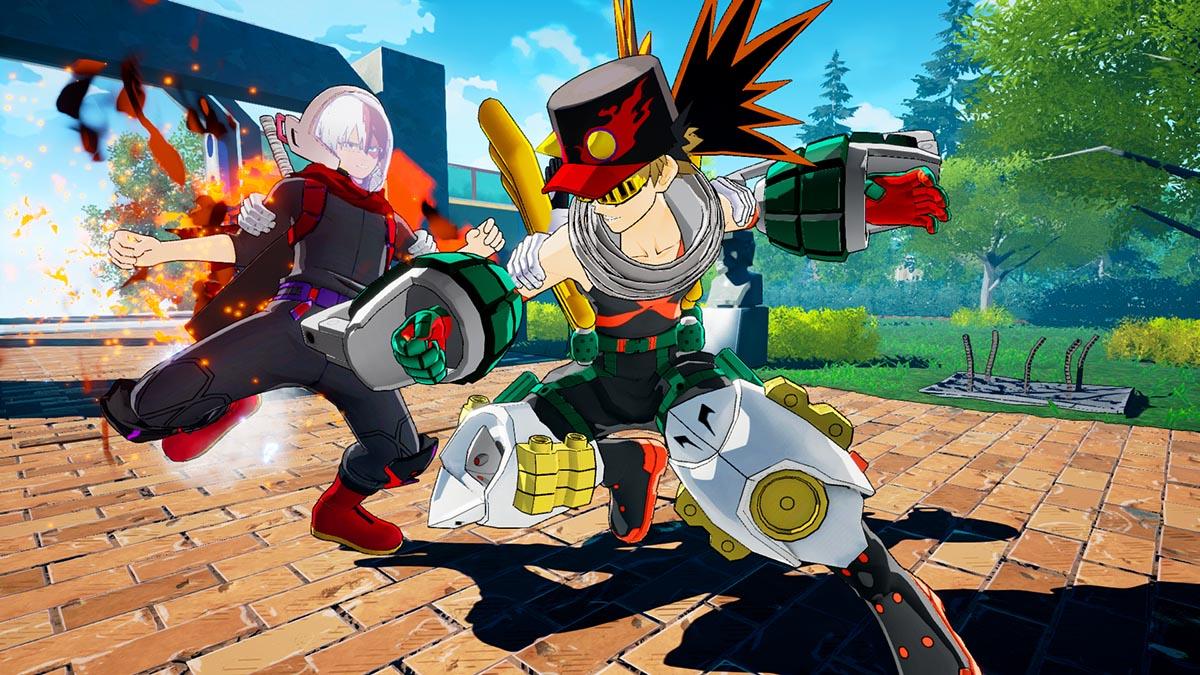Batalha Online em My Hero One's Justice (Imagem Divulgação / Bandai Namco)