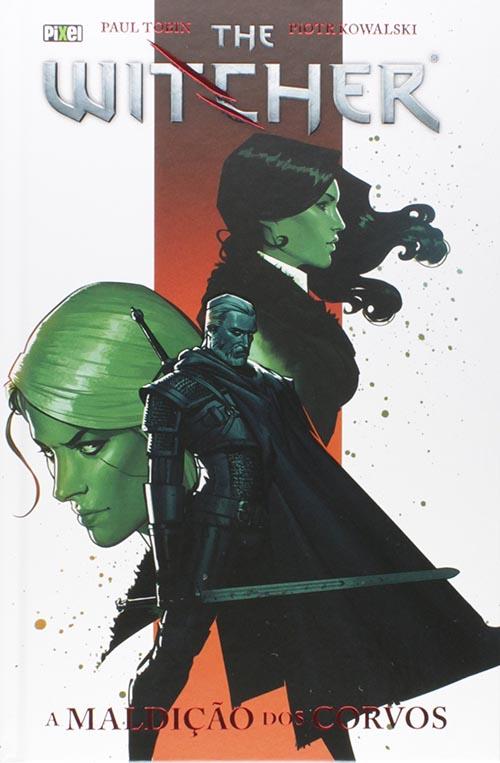 The Witcher - A Maldição dos Corvos Editora Pixel