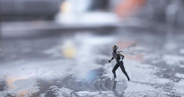 homem formiga e a vespa