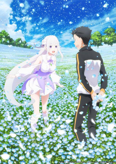 rezero memory snow subaru emilia