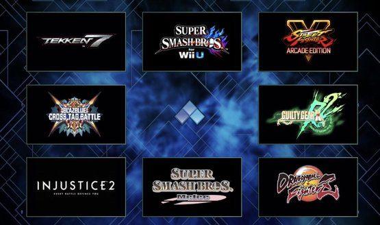 evo 2018 games