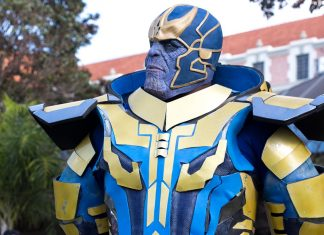 cosplay de thanos mega caf 2018
