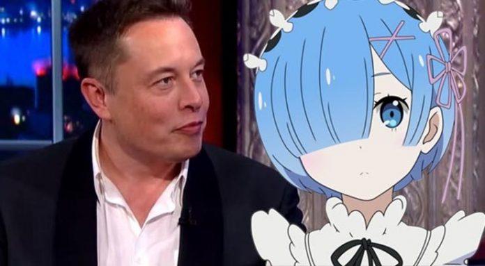 elon musk anime