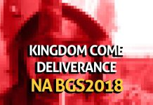 kingdom come deliverance bgs 2018