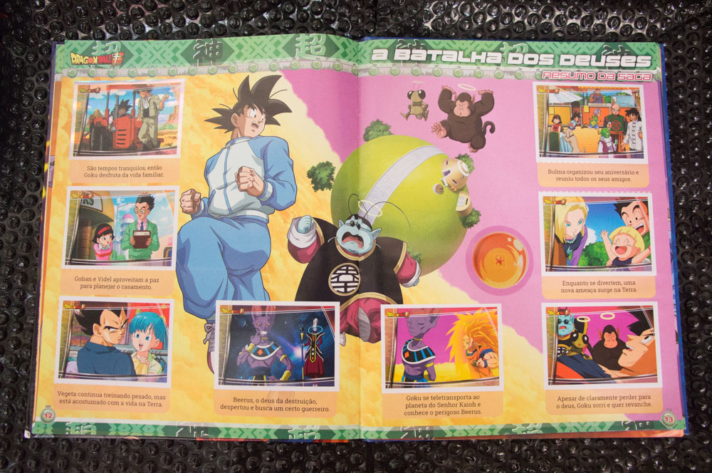 livro ilustrado Dragon Ball Super