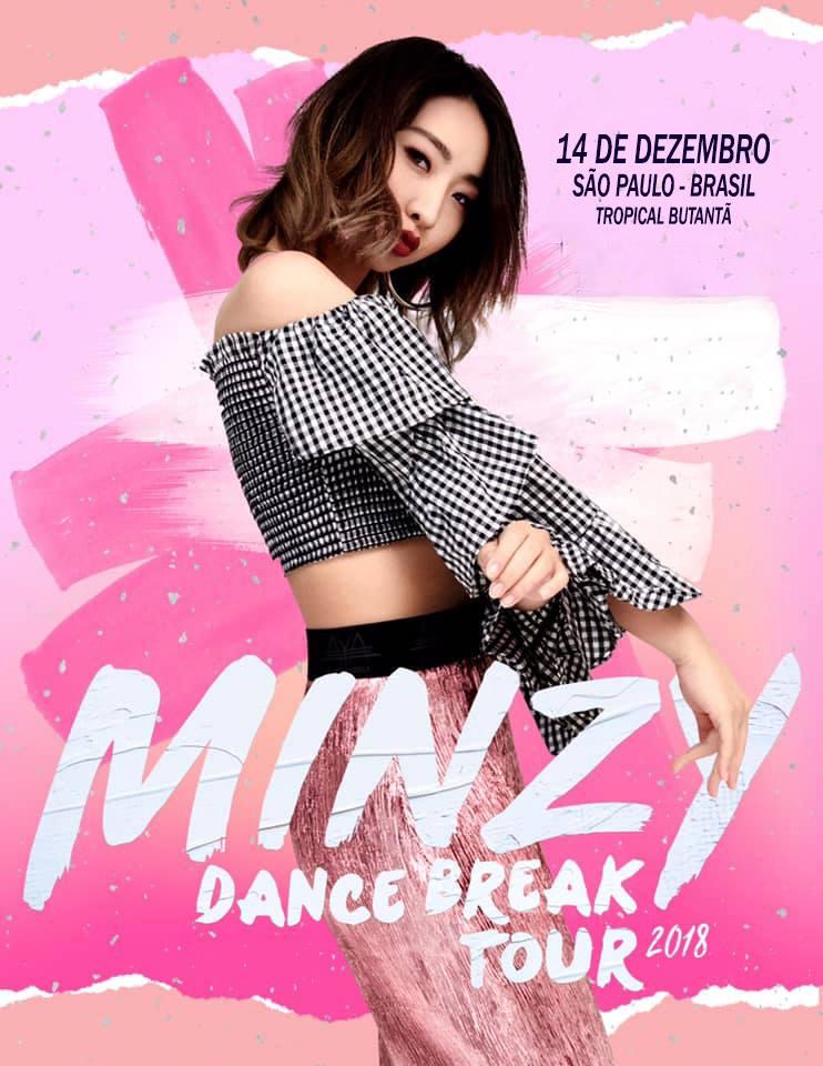 minzy dance break tour 2018 poster