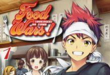 Shokugeki no Souma (Food Wars) capa japonesa
