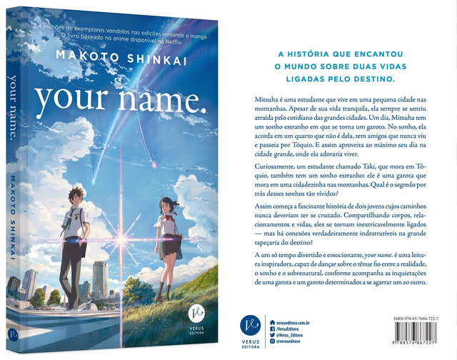 your name livro