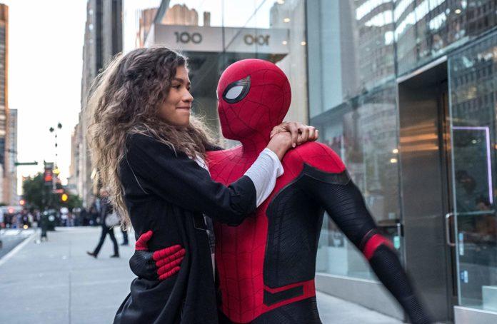 Peter e MJ homem aranha longe de casa