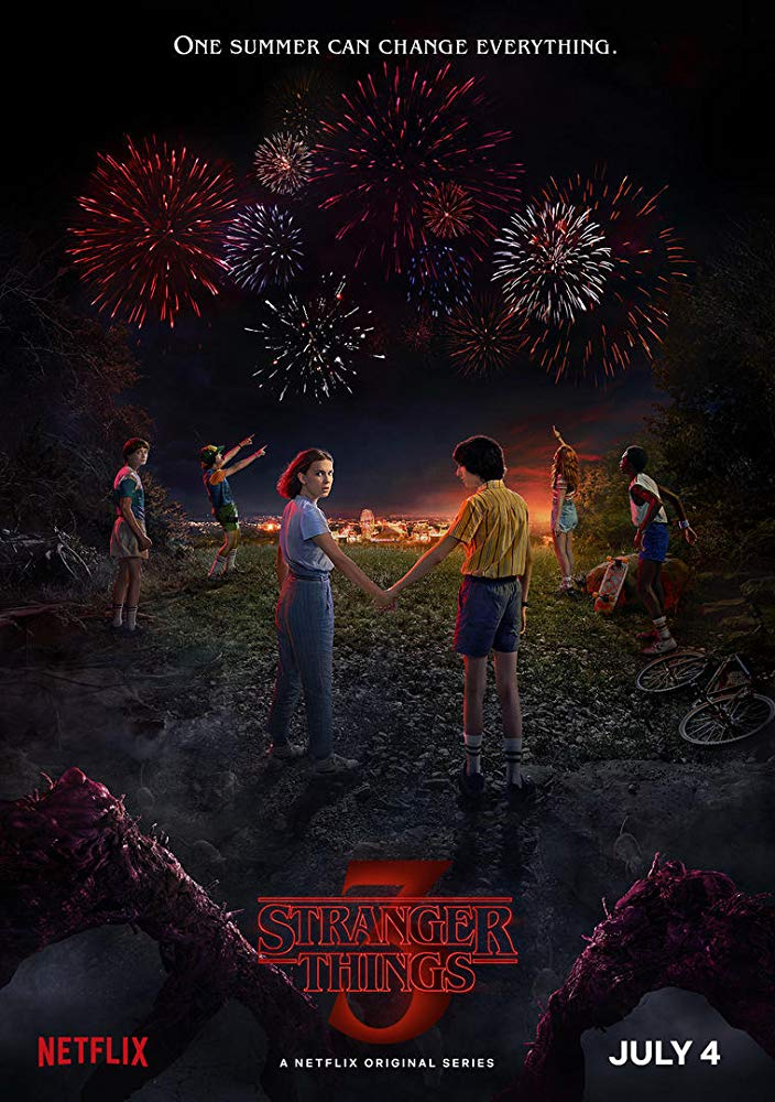 Poster 3 temporada Stranger Things