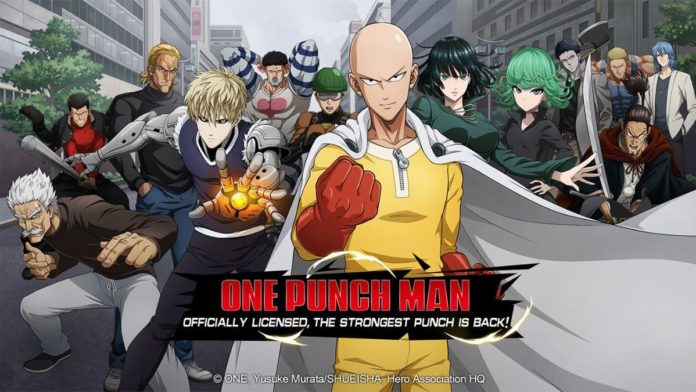 one punch man road to hero