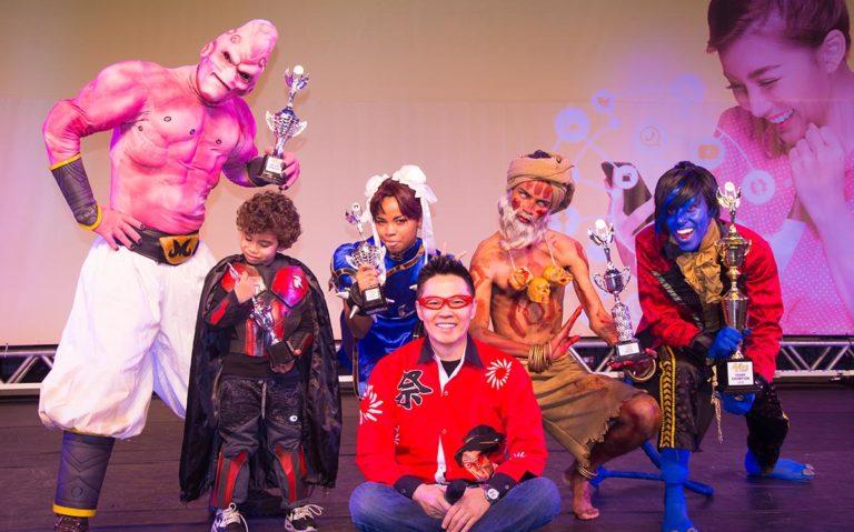 Vencedores do Akiba Cosplay Summit 2019 do Festival do Japão