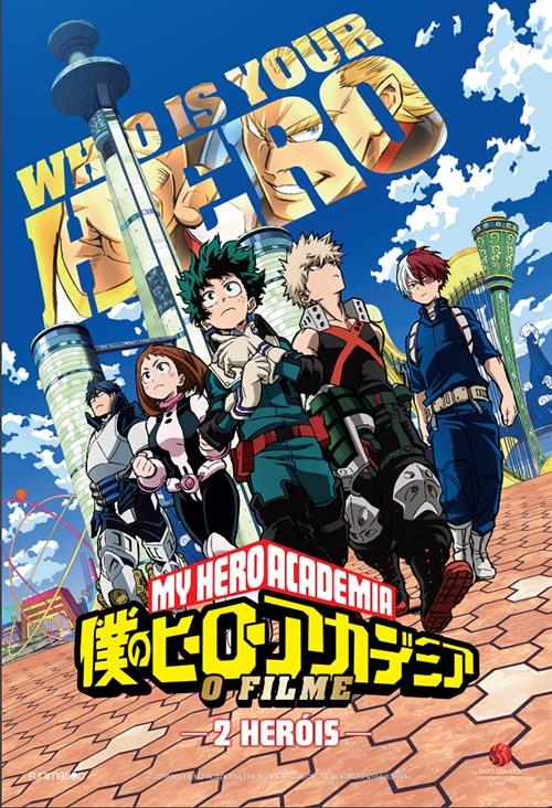 my hero academia 2 herois o filme sato poster