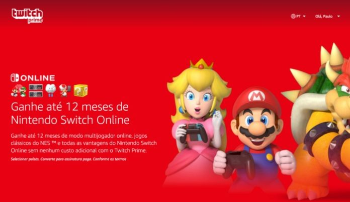 amazon prime nintendo switch online