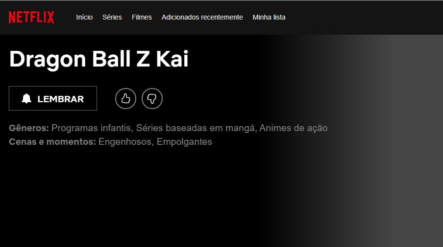 dragon ball z kai netflix