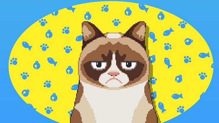 jogos de gatinhos grumpy cat game