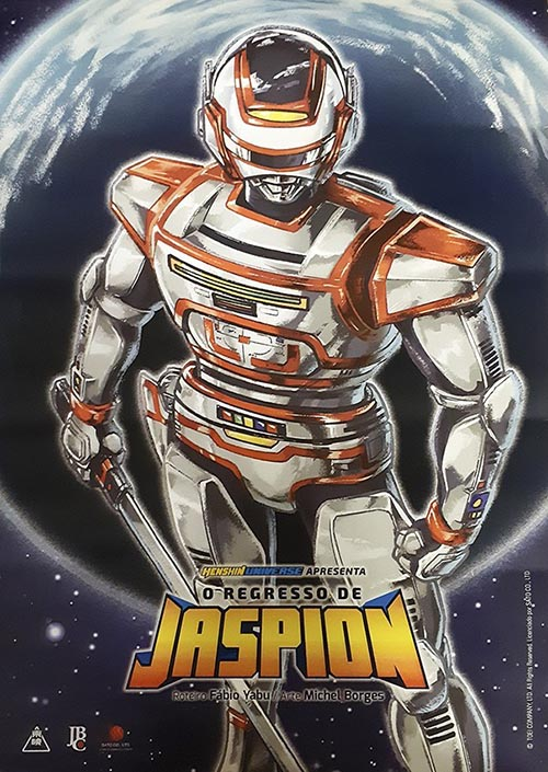 manga do jaspion o regresso de jaspion capa