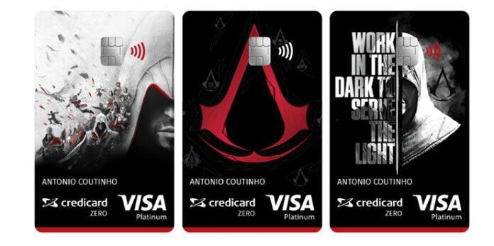 cartao credito assassins creed