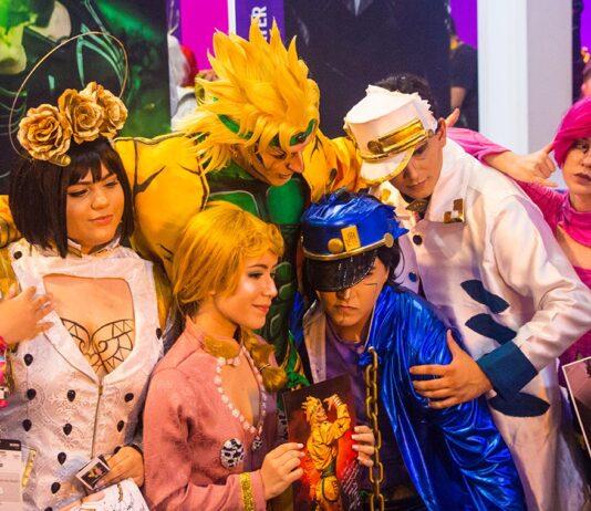 ccxp19 especial cosplay leon chiro jojo