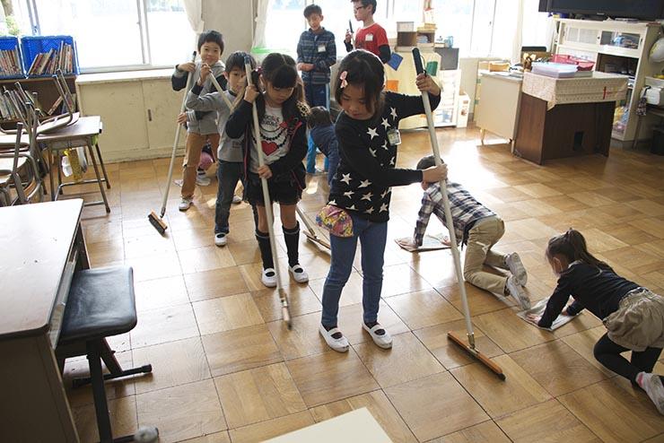 Japão Limpeza