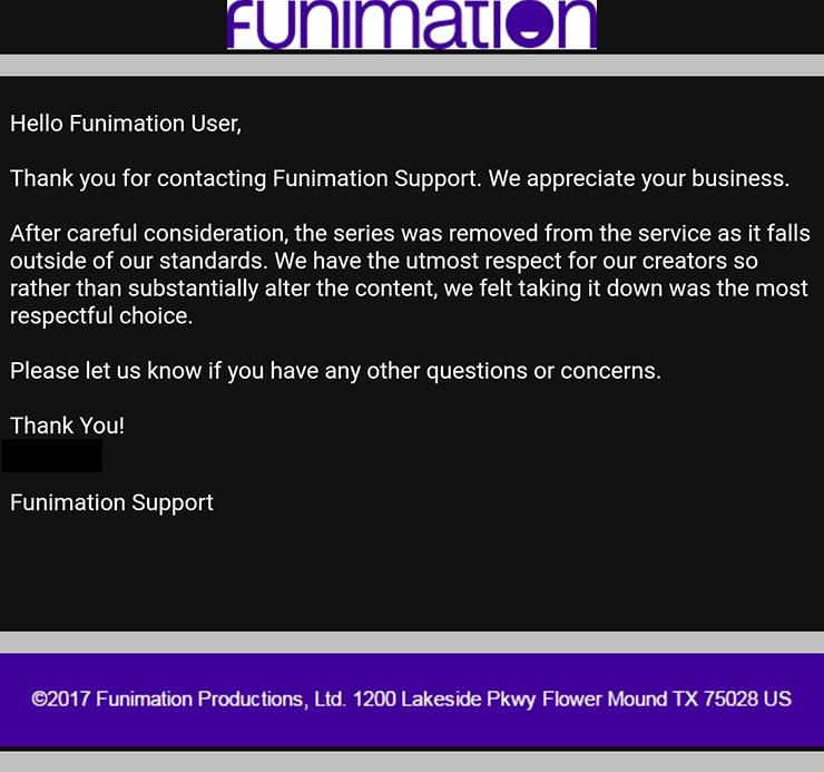 funimation interspecies reviewers