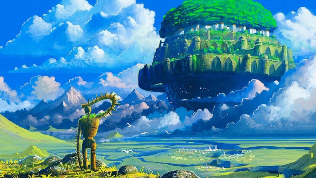 o castelo no ceu ghibli